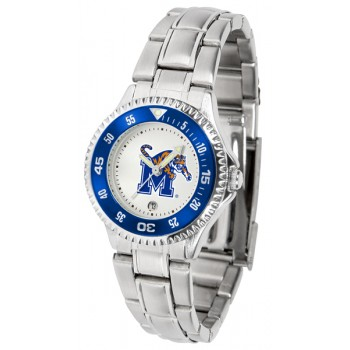 University Of Memphis Tigers Ladies Watch - Competitor Steel Band