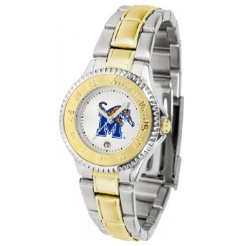 University Of Memphis Tigers Ladies Watch - Competitor Two-Tone