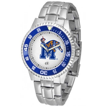 University Of Memphis Tigers Mens Watch - Competitor Steel Band