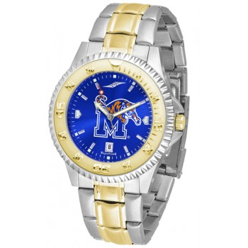 University Of Memphis Tigers Mens Watch - Competitor Anochrome Two-Tone