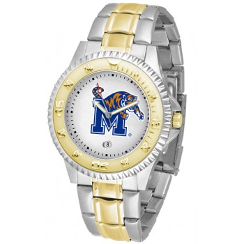 University Of Memphis Tigers Mens Watch - Competitor Two-Tone