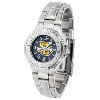 Marquette University Golden Eagles Ladies Watch - Competitor Anochrome Steel Band