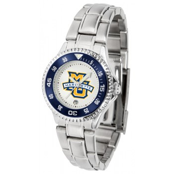 Marquette University Golden Eagles Ladies Watch - Competitor Steel Band