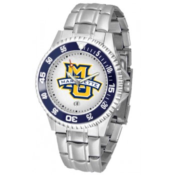 Marquette University Golden Eagles Mens Watch - Competitor Steel Band
