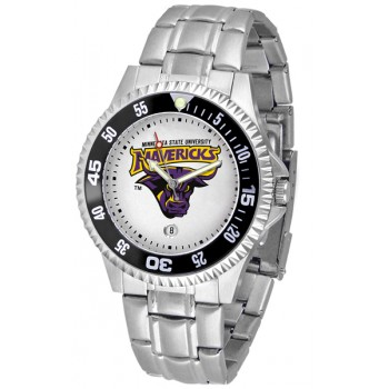 Minnesota State University Mankato Mavericks Mens Watch - Competitor Steel Band