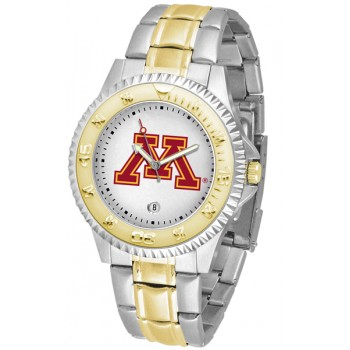 University Of Minnesota Gophers Mens Watch - Competitor Two-Tone
