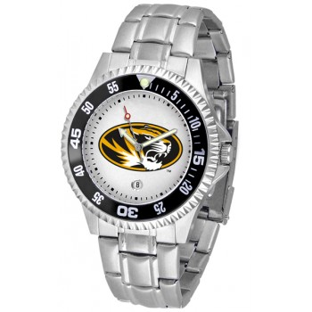 University Of Missouri Tigers Mens Watch - Competitor Steel Band
