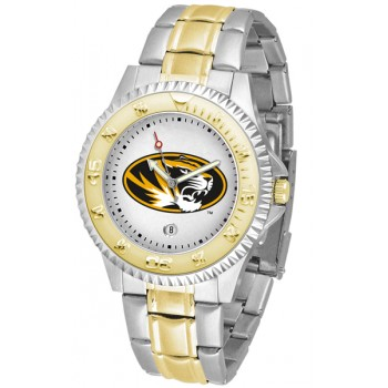 University Of Missouri Tigers Mens Watch - Competitor Two-Tone