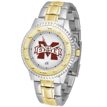 Mississippi State University Bulldogs Mens Watch - Competitor Two-Tone