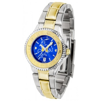 Mcneese State University Cowboys Ladies Watch - Competitor Anochrome Two-Tone