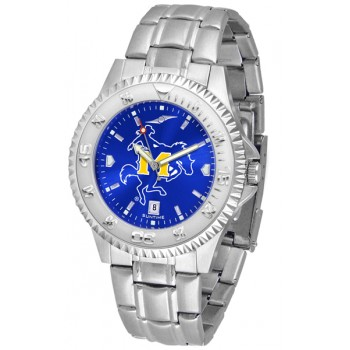Mcneese State University Cowboys Mens Watch - Competitor Anochrome Steel Band