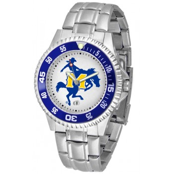 Mcneese State University Cowboys Mens Watch - Competitor Steel Band