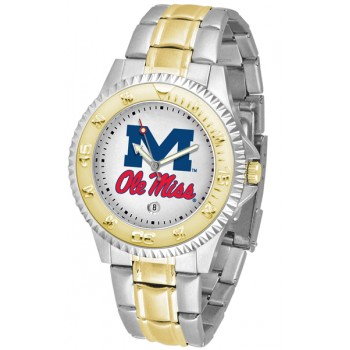 University Of Mississippi Ole Miss Rebels Mens Watch - Competitor Two-Tone