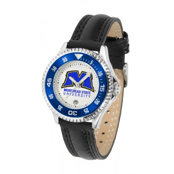Morehead State University Eagles Ladies Watch - Competitor Poly/Leather Band
