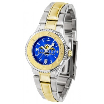 Morehead State University Eagles Ladies Watch - Competitor Anochrome Two-Tone