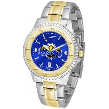 Morehead State University Eagles Mens Watch - Competitor Anochrome Two-Tone
