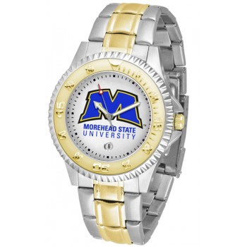 Morehead State University Eagles Mens Watch - Competitor Two-Tone
