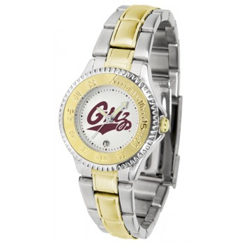 University Of Montana Grizzlies Ladies Watch - Competitor Two-Tone