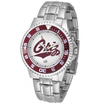 University Of Montana Grizzlies Mens Watch - Competitor Steel Band