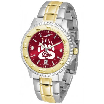 University Of Montana Grizzlies Mens Watch - Competitor Anochrome Two-Tone