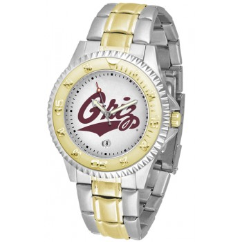 University Of Montana Grizzlies Mens Watch - Competitor Two-Tone