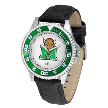 Marshall University The Herd Mens Watch - Competitor Poly/Leather Band