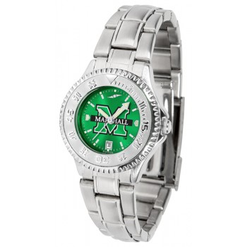 Marshall University The Herd Ladies Watch - Competitor Anochrome Steel Band