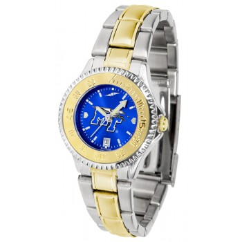 Middle Tennessee State University Blue Raiders Ladies Watch - Competitor Anochrome Two-Tone