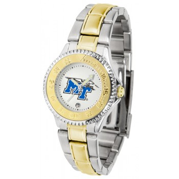 Middle Tennessee State University Blue Raiders Ladies Watch - Competitor Two-Tone