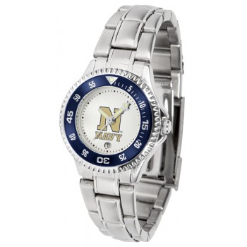 United States Naval Academy Midshipmen Ladies Watch - Competitor Steel Band