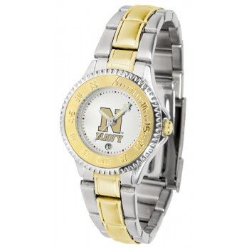 United States Naval Academy Midshipmen Ladies Watch - Competitor Two-Tone