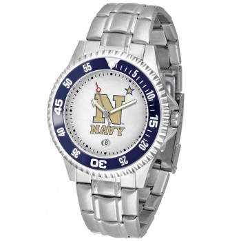 United States Naval Academy Midshipmen Mens Watch - Competitor Steel Band