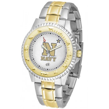 United States Naval Academy Midshipmen Mens Watch - Competitor Two-Tone