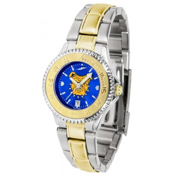 North Carolina A&T University Aggies Ladies Watch - Competitor Anochrome Two-Tone