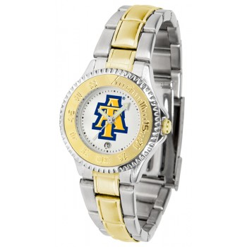 North Carolina A&T University Aggies Ladies Watch - Competitor Two-Tone
