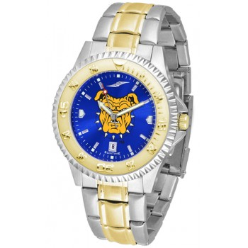 North Carolina A&T University Aggies Mens Watch - Competitor Anochrome Two-Tone