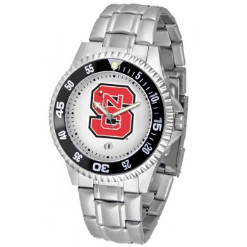 North Carolina State Wolfpack Mens Watch - Competitor Steel Band