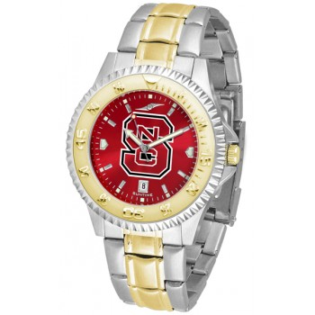 North Carolina State Wolfpack Mens Watch - Competitor Anochrome Two-Tone