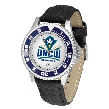 University Of North Carolina At Wilmington Mens Watch - Competitor Poly/Leather Band