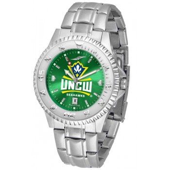 University Of North Carolina At Wilmington Mens Watch - Competitor Anochrome Steel Band
