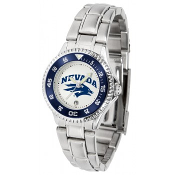University Of Nevada Wolfpack Ladies Watch - Competitor Steel Band