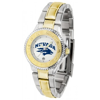 University Of Nevada Wolfpack Ladies Watch - Competitor Two-Tone