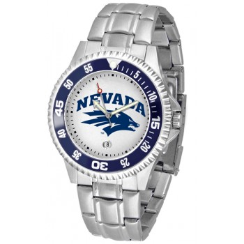 University Of Nevada Wolfpack Mens Watch - Competitor Steel Band