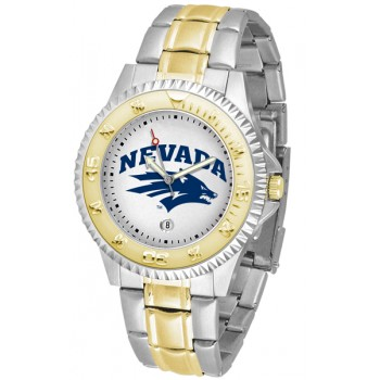 University Of Nevada Wolfpack Mens Watch - Competitor Two-Tone