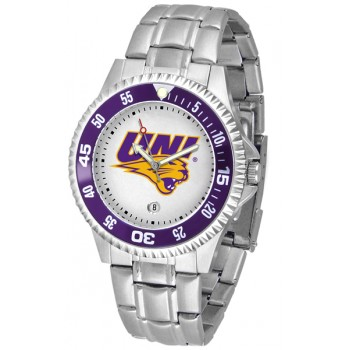 University Of Northern Iowa Panthers Mens Watch - Competitor Steel Band