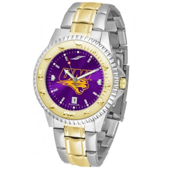 University Of Northern Iowa Panthers Mens Watch - Competitor Anochrome Two-Tone