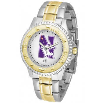 Northwestern University Wildcats Mens Watch - Competitor Two-Tone