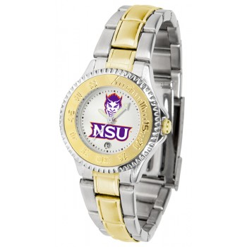 Northwestern State University Demons Ladies Watch - Competitor Two-Tone