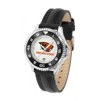Oregon State University Beavers Ladies Watch - Competitor Poly/Leather Band