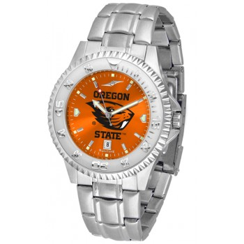Oregon State University Beavers Mens Watch - Competitor Anochrome Steel Band